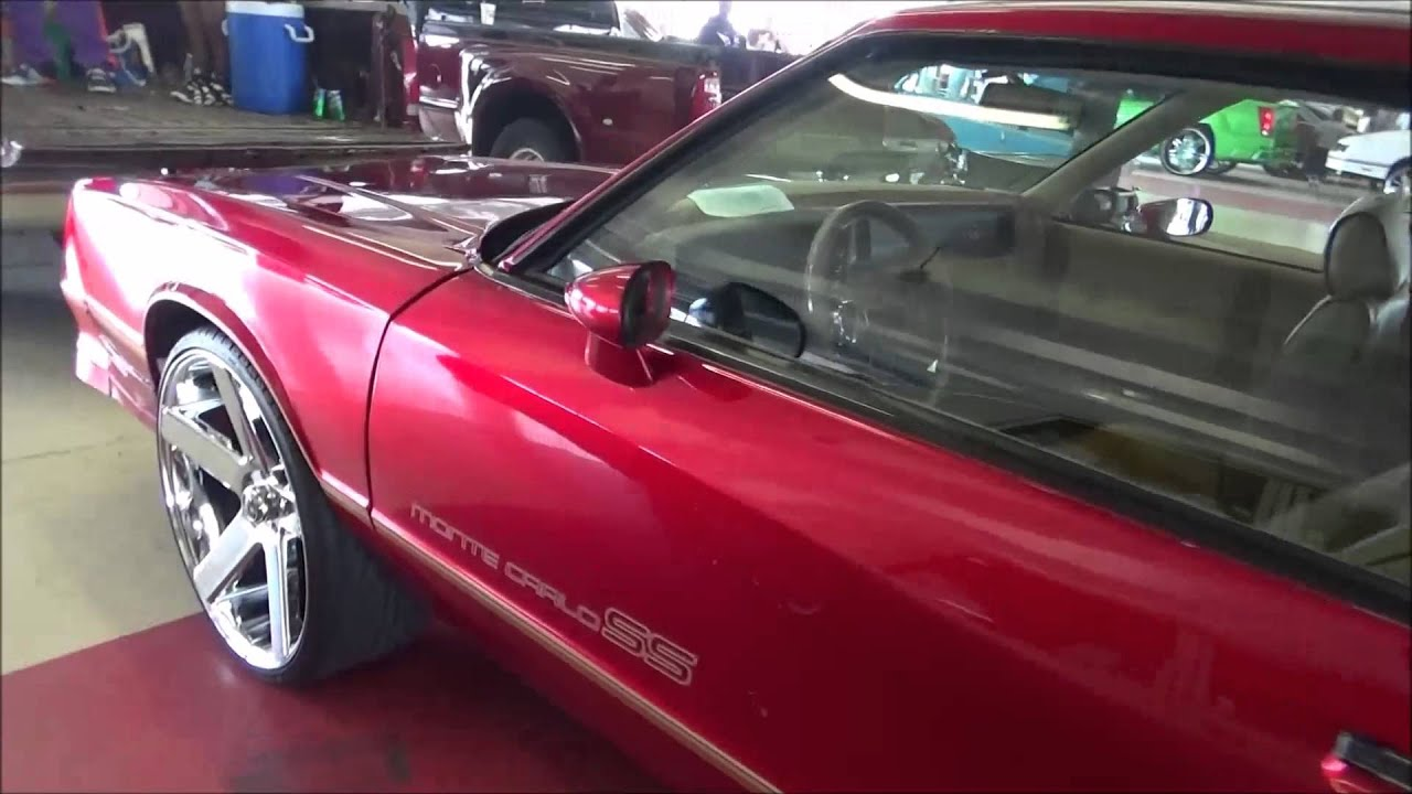 "Ss Monte Carlo >> Monte carlo SS on 24"" DUB Baller wheels - YouTube"