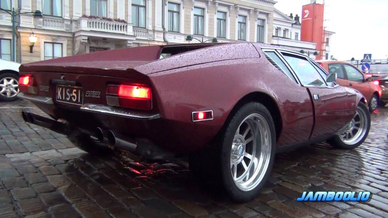 Car Legacy Wallpaper De Tomaso Pantera Spotted In Helsinki Love That V8 Sound