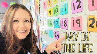 A Day in the Life of a Teacher - TEACHER VLOG