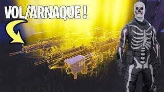 I AM THE ARNAQUER A VINDERTECH ARME ON WORLD SAUVER FORTNITE!