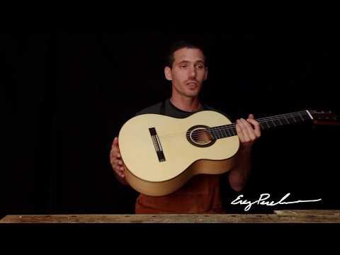 Watch Handmade Classical & Flamenco Guitars by Master Luthier Erez Perelman