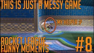 CONFUSING GAME! - Rocket League Funny Moment #8