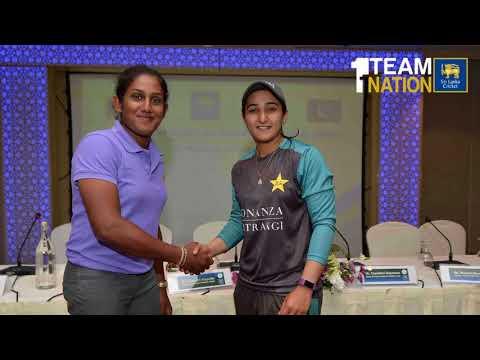 Sri Lanka-Pakistan Women's Cricket Bilateral Series - 1st ODI Pre Match Interview.