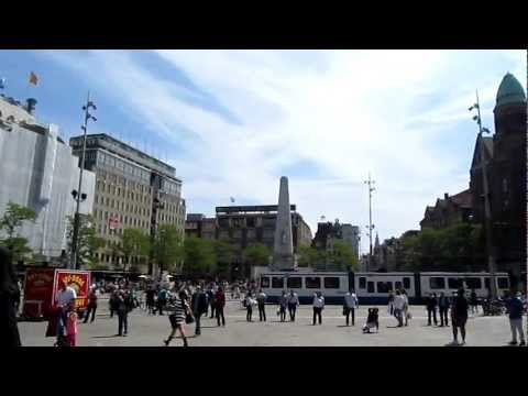 Dam Square, Amsterdam, North Holland, Netherlands, Europe
