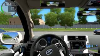 city car driving 1.4.0 Тест драйв ToyotaLand cruiser 200