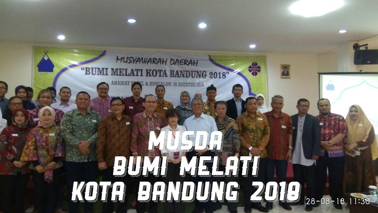 MUSDA Bumi Melati Kota Bandung 2018