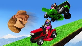 Download THIS MOWER IS CRAZY!? (GTA 5 Funny Moments) Mp3 and Videos