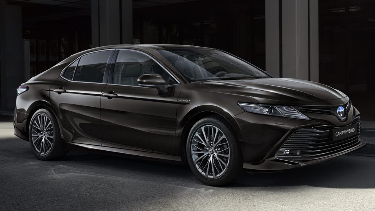 2020 toyota camry hybrid unveiled  luxury sedan  youtube