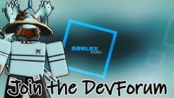 Roblox How to join the Developer Forum + Write Messages!