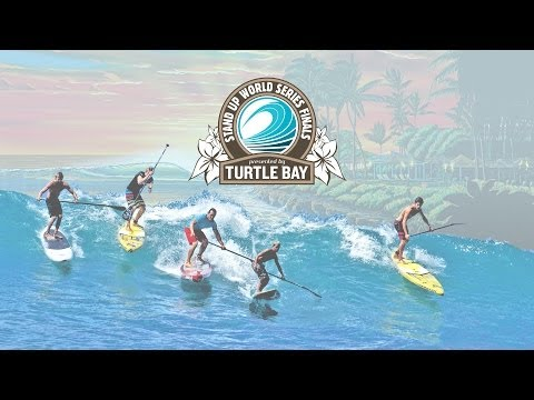 LIVE BROADCAST - Turtle Bay Finals Stand Up World Series 2013 Day 1