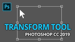 How to  Free Transform in Adobe Photoshop CC 2019 - Photoshop Free Transform