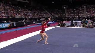 Jordyn Wieber - Floor Exercise - 2011 AT&T American Cup