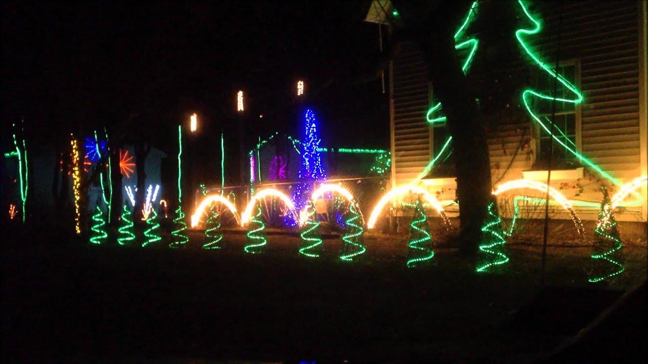 Youtube Christmas Lights To Music