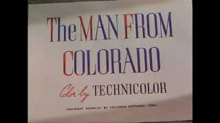 The Man from Colorado (1948) title sequence