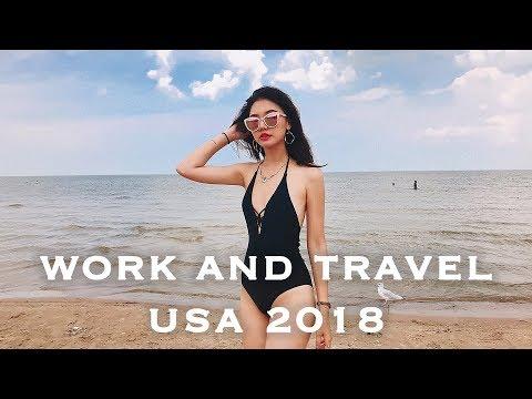 work and travel in USA 美國打工不專業亂剪 #vlog.2 | 福爾思庭