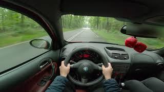 Alfa Romeo 147 1.6 Blackline POV Test Drive