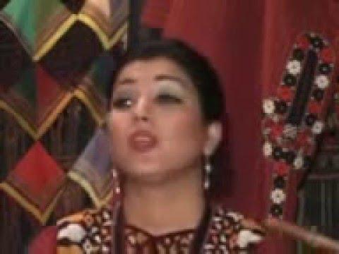 Turkmen Classic Song Ogulbibi Reyimowa   Yarım bilen gideyin