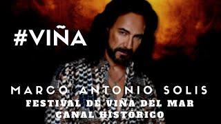 Marco Antonio Solis -  Invéntame - (en Vivo HD) Festival de Viña del Mar 2017 #VIÑA