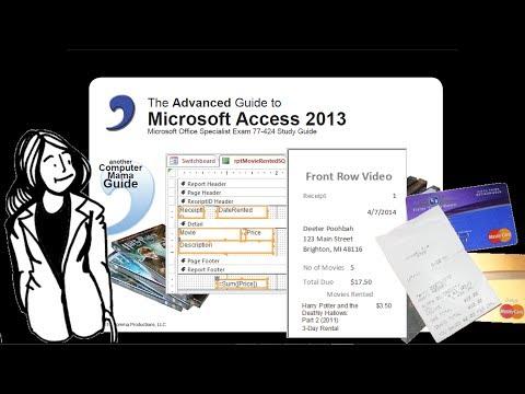 Access 2013 Advanced Report 1