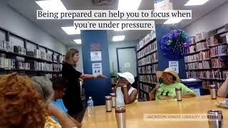 Public Safety Program at Annie Thompson Jeffers Library, Bolton, MS - September 17, 2019