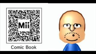 Nintendo 3DS Mii QR Codes Simpson Pack 2