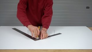Draw Circles with Sticks, Tape, and Squares
