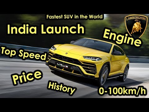 Lamborghini Urus In India All You Need To Know Exhaust Sound