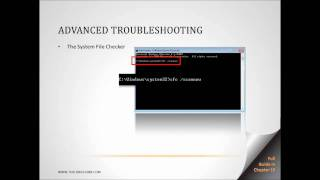 Advanced Windows 7 Troubleshooting - Part 3 of 4