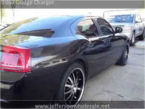 Used Cars Kenner >> 2007 Dodge Charger Used Cars Kenner La