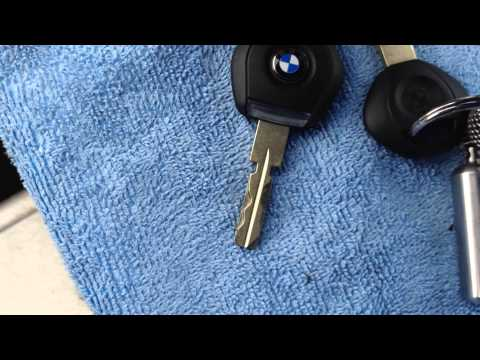 Bmw E36 Key Transponder Chip Replacement.