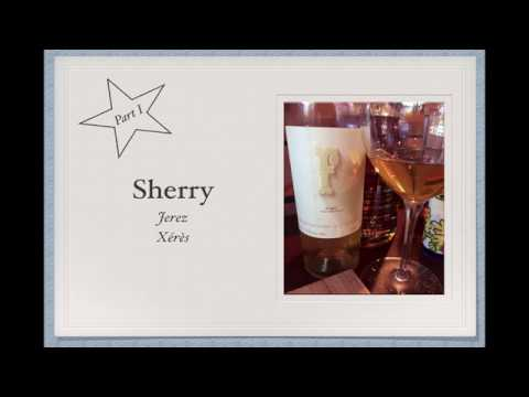 wine article Winecast Sherry Part I