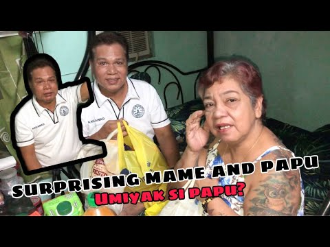 Download SURPRISING MAME AND PAPU (umiyak si papu?) | ahldrin john opilac