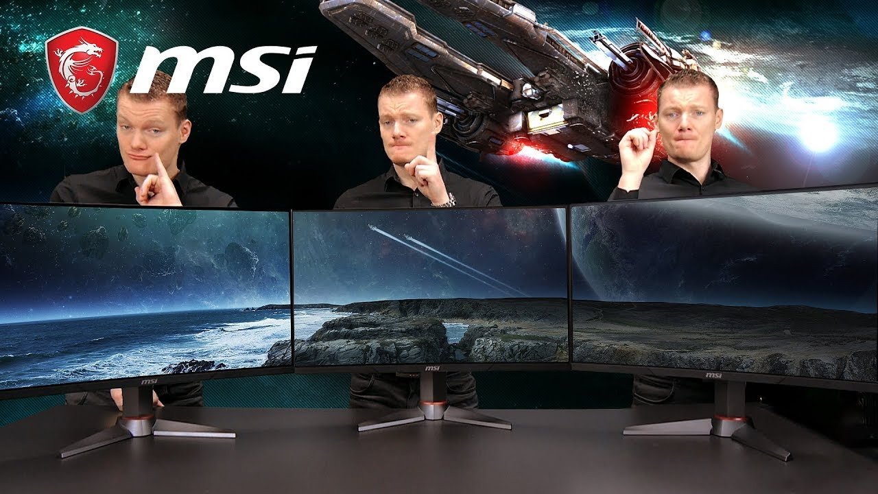 Triple Monitor Setup Tutorial: Optix MAG27CQ | Gaming Monitor | MSI