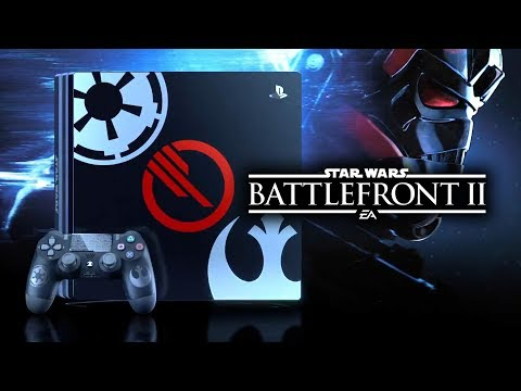 Star Wars Battlefront 2 - PS4 Pro LIMITED EDITION Console Revealed!