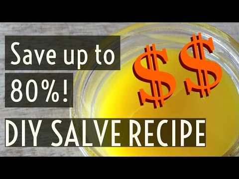 DIY Dandelion Gardener's Salve Recipe || Frugal Living Series