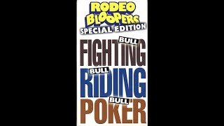 Rodeo Bloopers Special Edition (1998)
