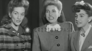 Andrews Sisters - Boogie Woogie Bugle Boy - Live 1941