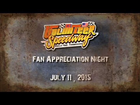 Volunteer Speedway Highlight July 11 , 2015