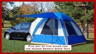 TENT REVIEW: Sportz Dome-to-Go Vehicle Tent,Small Hatchback/CUV Model #86000/Napier Enterprises