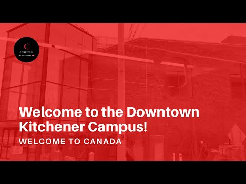 Welcome To The Downtown Kitchener Campus!