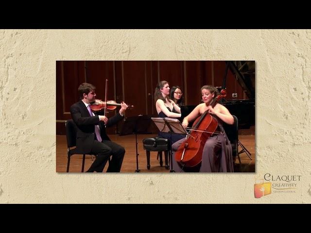 78D Piano Trío N° 2, Mi Bemol Mayor     Schubert