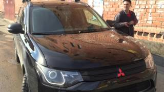 Упор капота и растяжка Mitsubishi Outlander