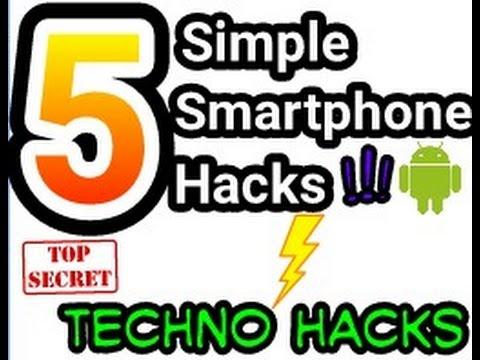 5 simple smartphone hacks!!   youtube