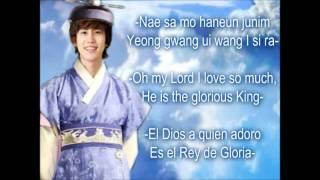 Download lagu Kyuhyun-Until the Lord returns (Lyrics in English, spanish and Korean romanized)