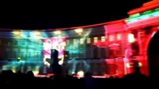 Лазерное шоу на Дворцовой площади в #Петербурге 👍