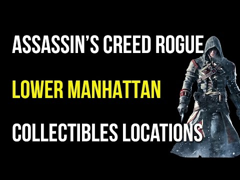 Assassin's Creed Rogue Lower Manhattan Collectibles/Quest Items/Viking Sword/Templar Relic