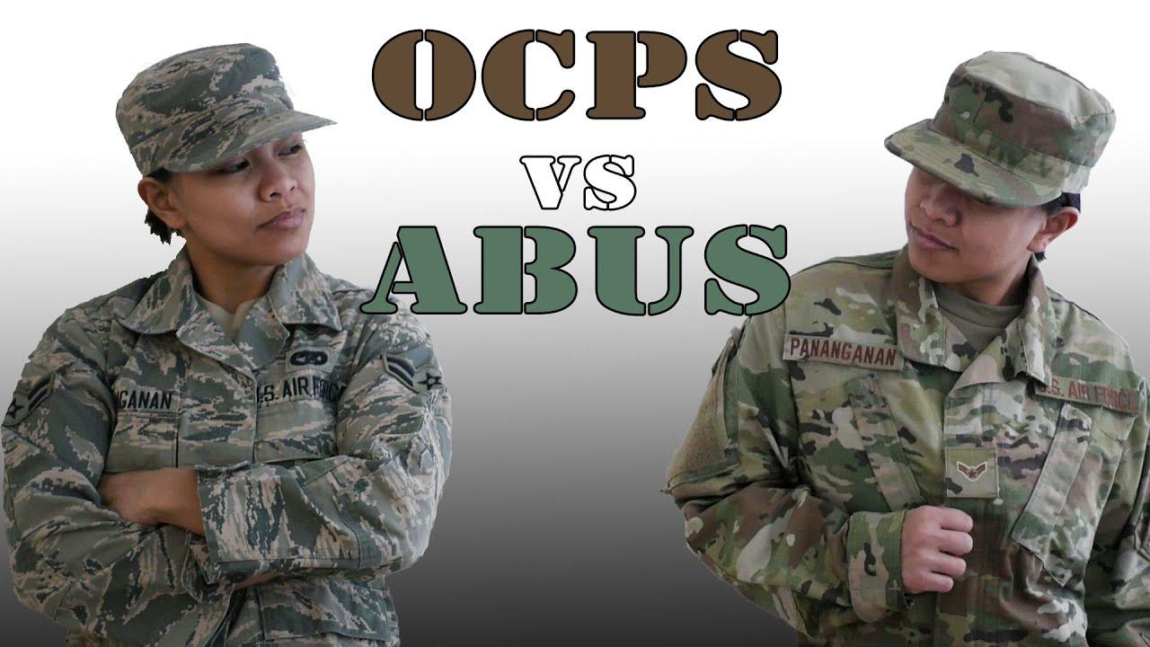 NEW Air Force Uniforms | ABUs vs OCPs Comparison