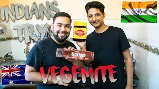 My Indian Friends try 🇦🇺 Vegemite for the first time