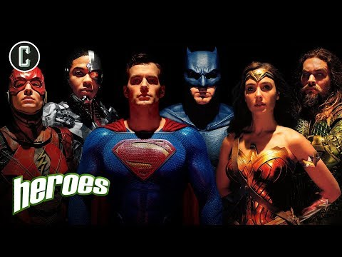 Should WB Reboot the Justice League?  Heroes
