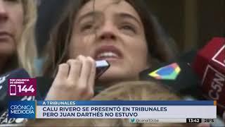 """Calu Rivero: """"Un día por fin la mujer ganó"""